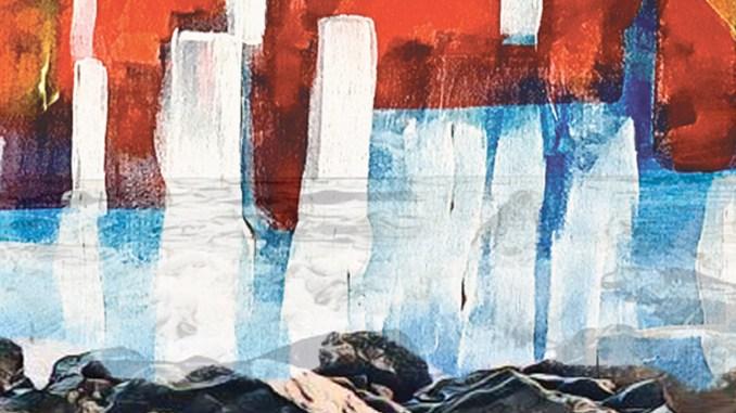 """artwork for Maria Shiel- album """"Fire in the Sea!"""""""