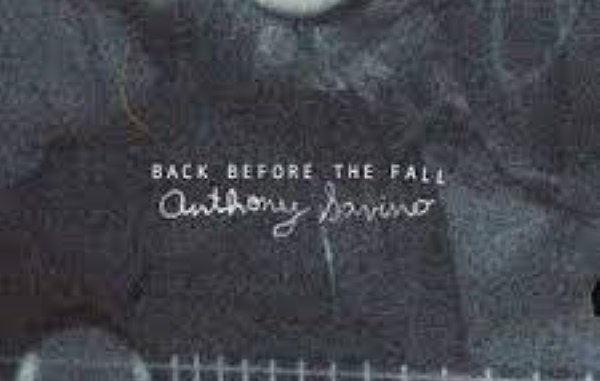 cover art anthony savino back before the fall