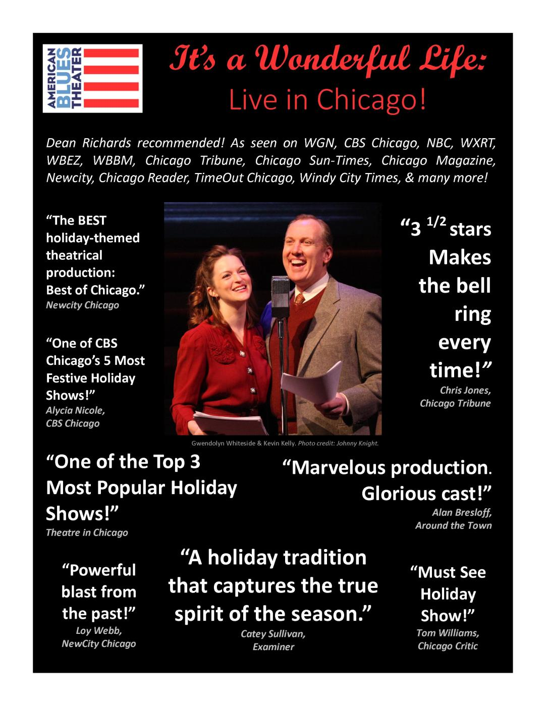 It's a Wonderful Life Chicago Theater Reviews