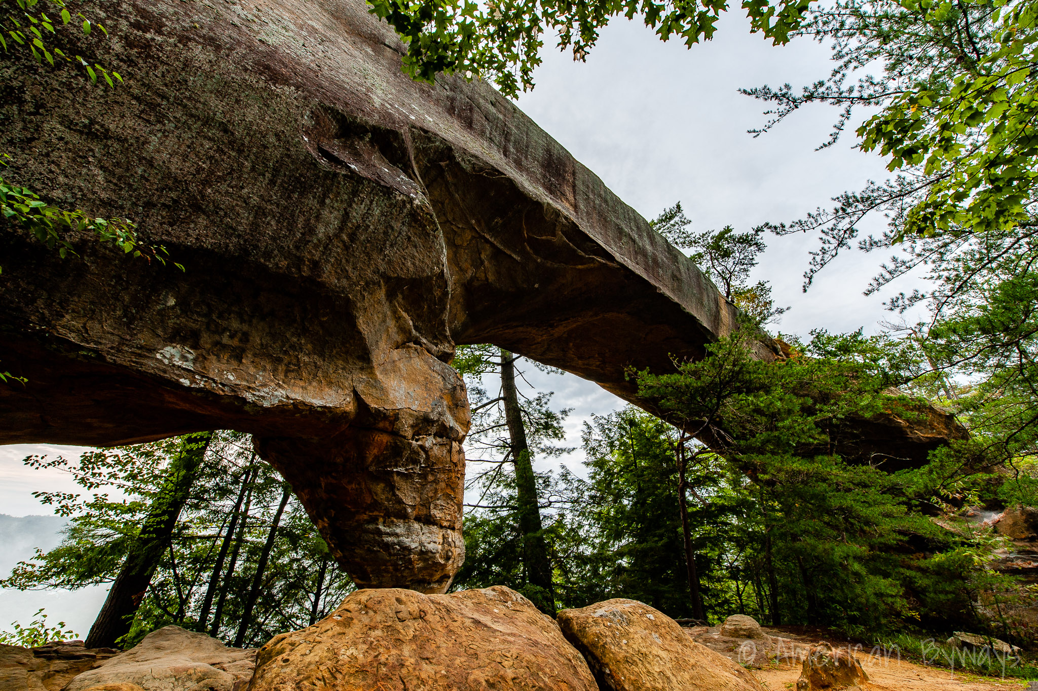 Sky Bridge Arch at Red River Gorge