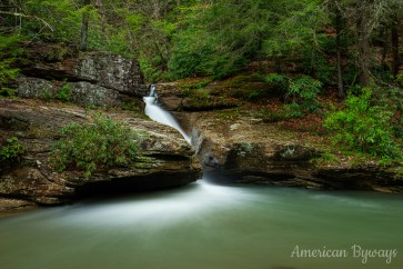 Shupe's Chute at Holly River State Park