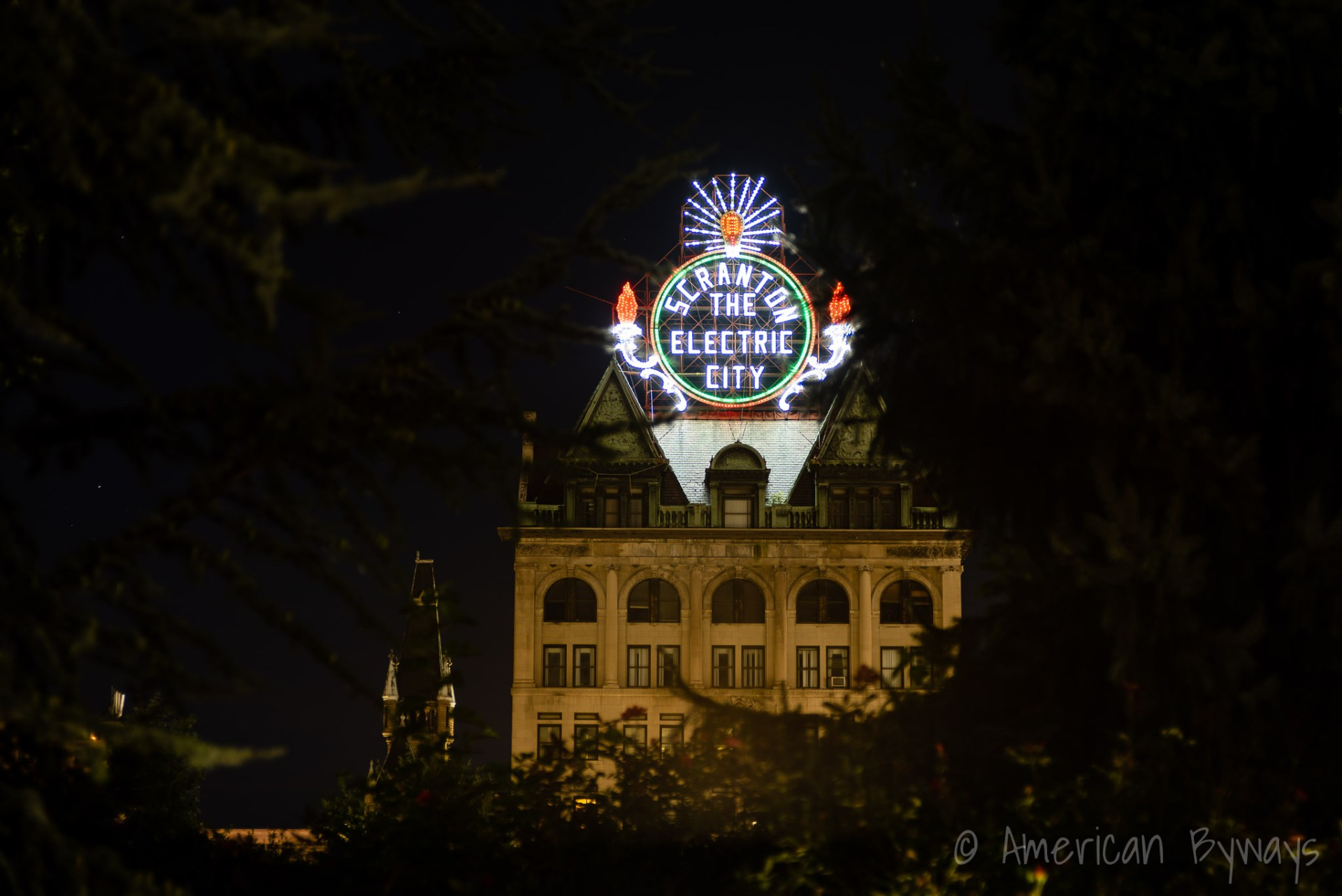 Scranton, the Electric City Sign