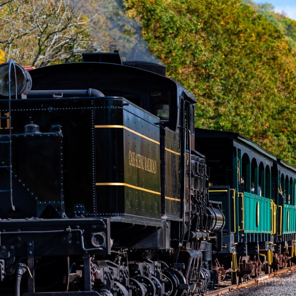 Cass Locomotive and Train