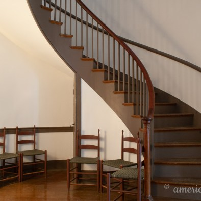 Shaker Village of Pleasant Hill Twin Spiral Staircases