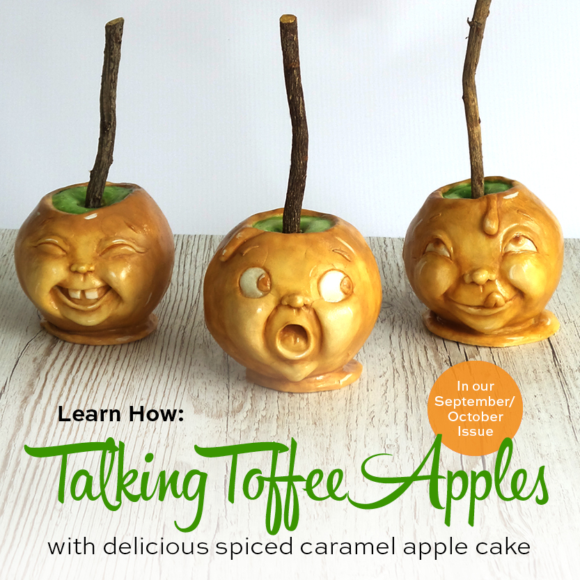 Talking Toffee Apple cake