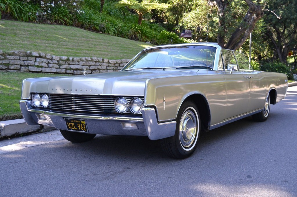 1966 Lincoln Continental Convertible For Sale