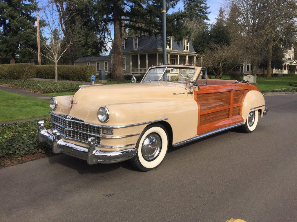 1955 Chrysler New Yorker 1954 Deluxe Newport