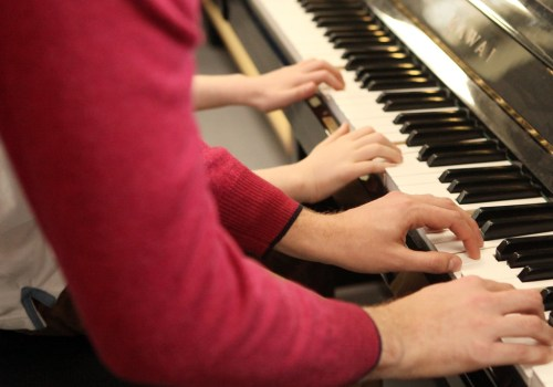 First Steps Into Music At ISP – Piano / Violin / Guitar