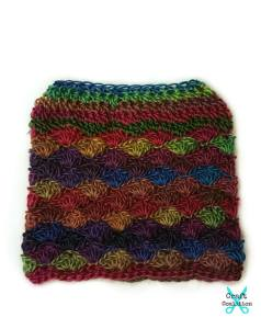 Carousel Dream Messy Bun free crochet patternHat free crochet pattern