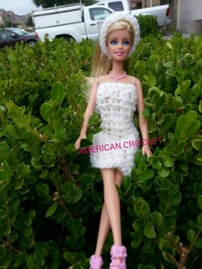 Barbie Doll Dress n Headband tested