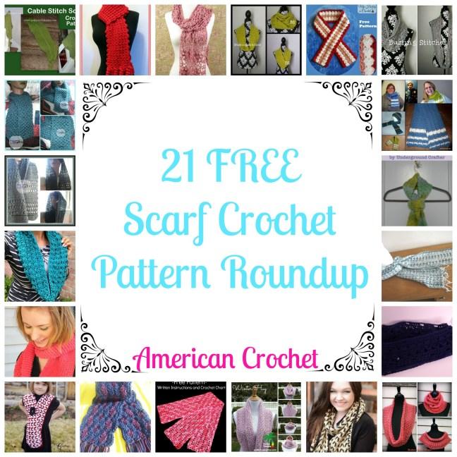 21 Free Scarf Crochet Patterns