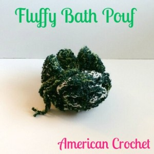 Fluffy Bath Pouf