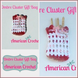 Ombre Cluster Gift Bag Collage
