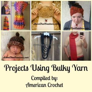 Projects Using Bulky Yarn