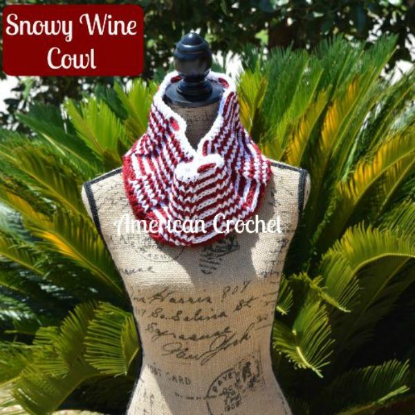 Snowy Wine Cowl