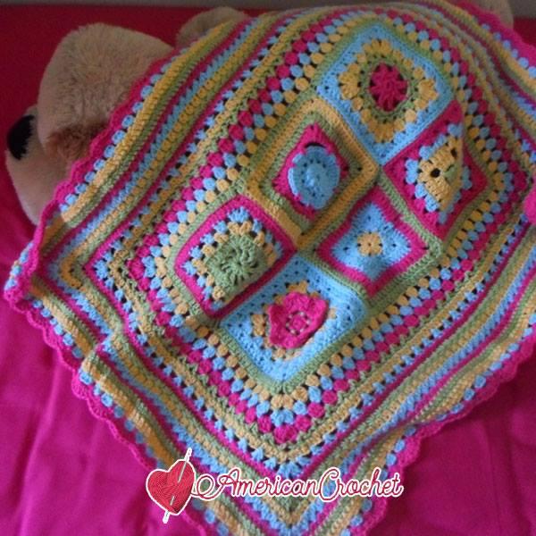 AC & CWU Blanket CAL | American Crochet @americancrochet.com