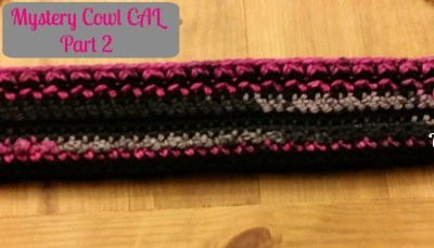 Mystery Cowl Crochet Along ~ Part 2
