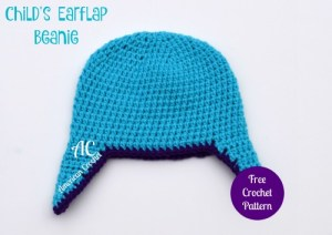 Childs Earflap Beanie