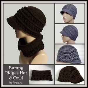 bumpy-ridges-hat-cowl