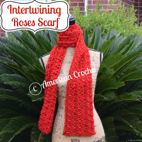 Intertwining Roses Scarf