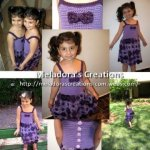 Crochet Flower Dress