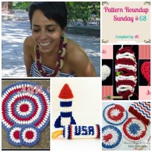Pattern Roundup Sunday #68 ~ Red, White & Blue