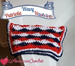 Patriotic Wavy Cloth