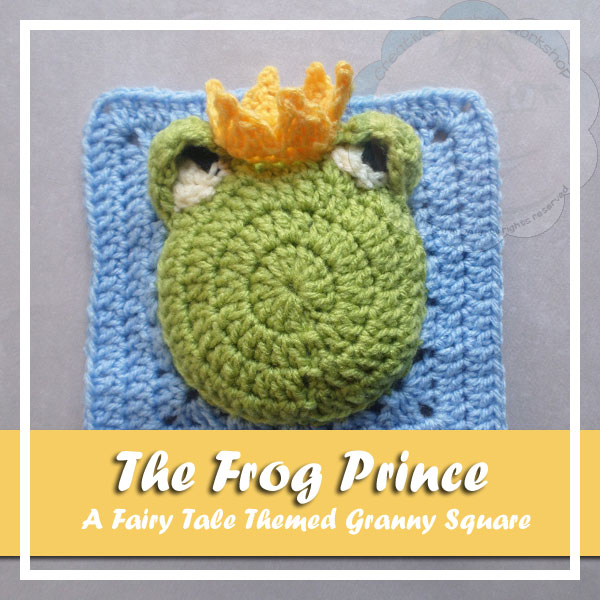 The Frog Prince | Free Crochet Pattern | American Crochet @americancrochet.com @creativecrochetworkshop.com #contributorpost #freecrochetpattern