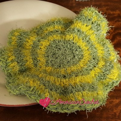 2-N-1 Flower Scrubby