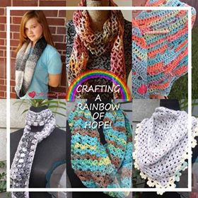 Crafting A Rainbow Of Hope! ~ September Roundup