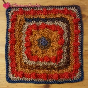 The Trail Square | Free Crochet Pattern | American Crochet @americancrochet.com #freecrochetpattern
