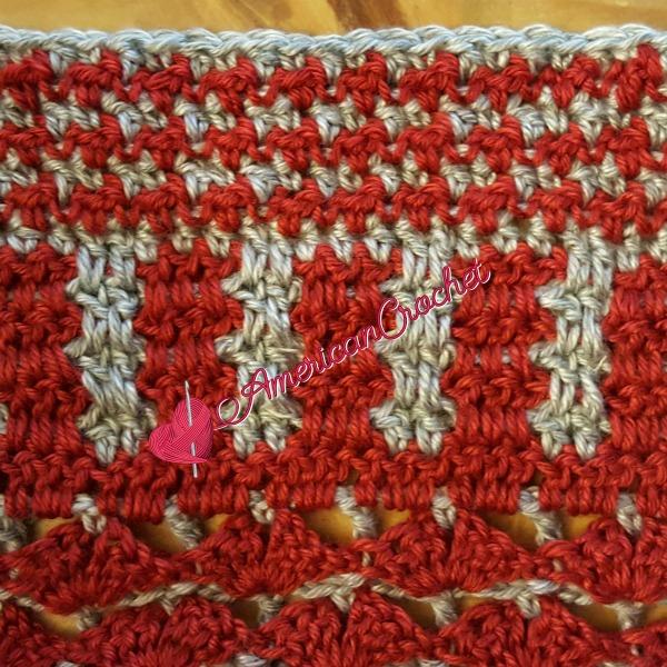 Wonder Crochet Blanket CAL Part 20 | Free Crochet Pattern | American Crochet @americancrochet.com #crochetalong #freecrochetpattern