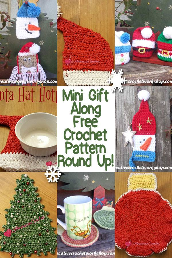 Christmas Mini Crochet Gift Along 2016 | American Crochet @americancrochet.com @creativecrochetworkshop.com #freecrochetpatterns