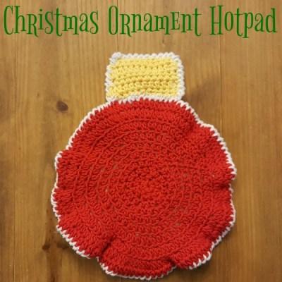Christmas Ornament Hotpad