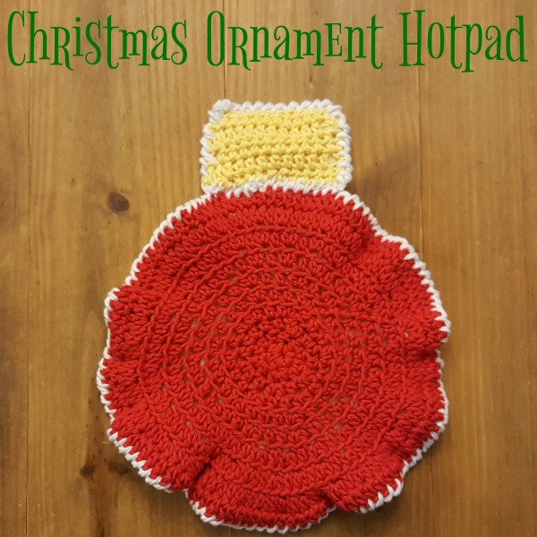 Christmas Ornament Hotpad