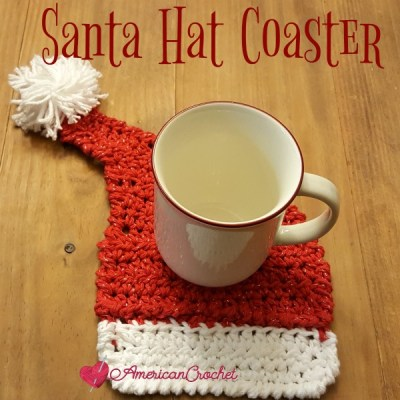 Santa Hat Coaster