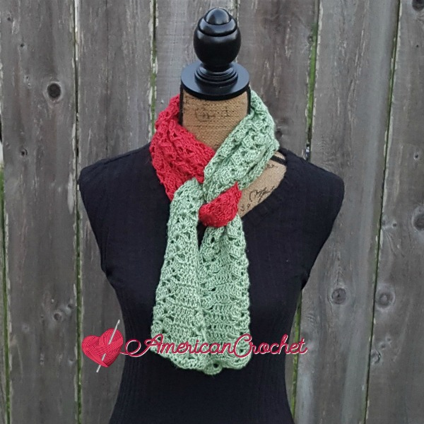 Staggered Shells Scarf