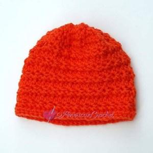 Radiant Stars Messy Bun Hat | Free Crochet Pattern | American Crochet @americancrochet.com #freecrochetpattern