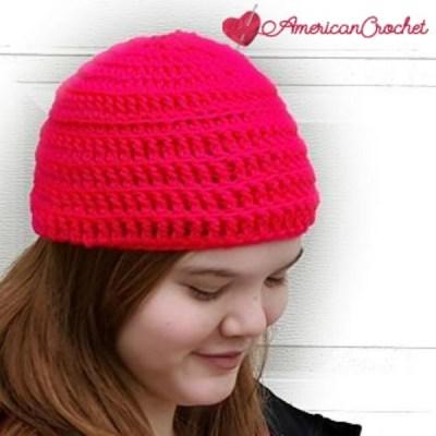Simply Reversible Messy Bun Hat