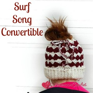 Surf Song Convertible ~ Free Crochet Pattern