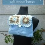 Groovy Granny Bag free crochet pattern