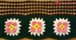 FIELDS OF FLOWERS AFGHAN CAL ~ PART TWO