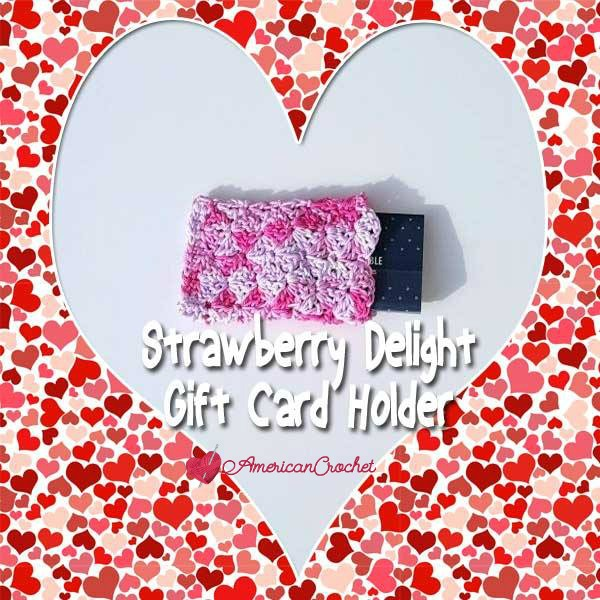 Strawberry Delight Gift Card Holder