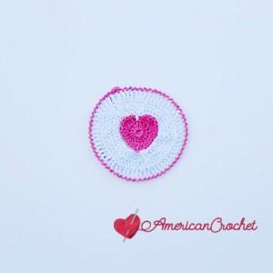 Creamy Truffle Heart Coaster