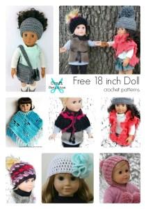 Free 18-inch Doll Crochet Pattern Roundup!