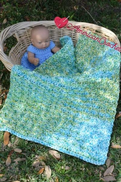 Serendipity do dah Baby Blanket free crochet pattern