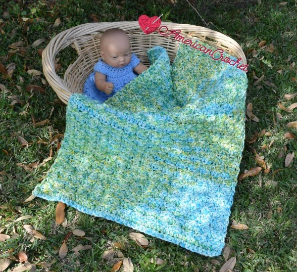 Serendipity do dah Baby Blanket free crochet pattern