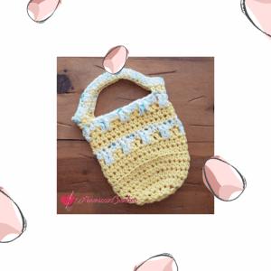 Sweetdrops Mini Bag | American Crochet @americancrochet.com #crochetpattern