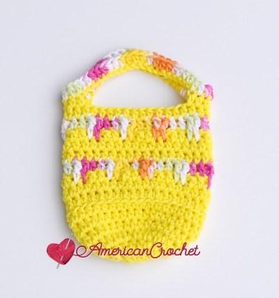 Sweetdrops Mini Bag free crochet pattern
