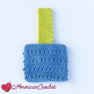 Crazy Berry Mini Purse | Crochet Pattern | American Crochet @americancrochet.com #crochetpattern